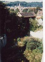 Der Schiedgraben oberhalb der Stadtmühle. Von Osten. / Stadtgraben bei der Stadtmühle in 74523 Schwäbisch Hall