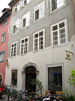 Konstanz, Rheingasse 14 (Schoenenberg 2008) / Sog. Haus zur Reuschen in 78462 Konstanz