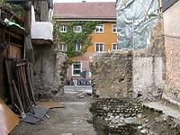 Übersicht von Süden / Stadtmauer und Wohnhaus in 78462 Konstanz (Lohrum)