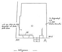 Systemskizze Grundriss Erdgeschoss / Wohnhaus in 79219 Staufen, Staufen im Breisgau (Burghard Lohrum)