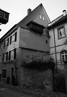 Ansicht von Ost / Wohn- und Geschäftshaus in 79219 Staufen, Staufen im Breisgau (Stadtarchiv Staufen)