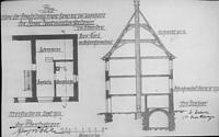 Bauplan von 1911 / Wohn- und Geschäftshaus in 79219 Staufen, Staufen im Breisgau (Stadtarchiv Staufen)
