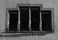 Gruppenfenster von 1582 im 1. OG (Straßenseite) / Wohnhaus in 79219 Staufen, Staufen im Breisgau (Stadtarchiv Staufen )