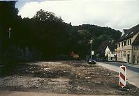Schwäbisch Hall, Hirschgraben. Zustand Herbst 1994, von Süden. / Areal in 74523 Schwäbisch Hall