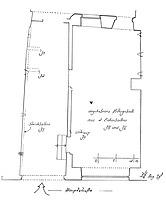 Systemskizze Grundriss Erdgeschoss, Ausschnitt / Wohnhaus in 79219 Staufen, Staufen im Breisgau (Burghard Lohrum)