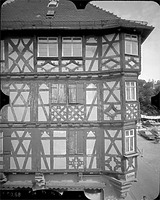 Photogrammetrische Aufnahme Ansicht von Süd, 1980 / Wohnhaus Palm in 74821 Mosbach
