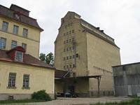 Ansicht des Silogebäudes von Süden (2006) / Silogebäude in 74582 Gerabronn