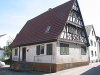 Ansicht des Gebäudes von Westen (2006) / Wohnhaus in 71272 Renningen