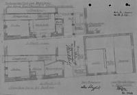 Grundriss Erdgeschoss, Zustand und Neuplanung von 1937 / Wohn- und Geschäftshaus in 79219 Staufen, Staufen im Breisgau (21.09.1937 - Stadtarchiv Staufen)