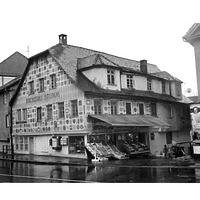 Ansicht von der Albstrasse des abgebrochenen Gebäudes / Wohn- und Geschäftshaus in 72764 Reutlingen