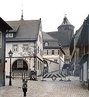 Ensemble von Nordwest / Areal mit den Schulgebäuden 75, 77, 79 in 74354 Besigheim (Stadtarchiv Besigheim)