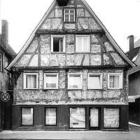 Photogrammetrische Aufnahme Ansicht Nordost, 1982 / Wohnhaus in 73525 Schwäbisch Gmünd