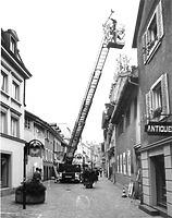 Hüetlinstrasse von Nordost, 1982 / Wohnhaus in 78462 Konstanz