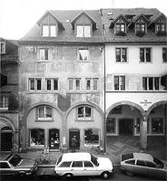 Photogrammetrische Aufnahme Zollernstrasse 25/27 von Nord, 1982 / Wohn- und Geschäftshaus in 78462 Konstanz