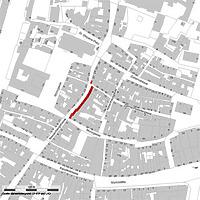ALK 2009 (Vorlage LV-BW und LAD) / Fassadenabwicklung Wessenbergstrasse 10-20 + Salmannsweilergasse 36 in 78462 Konstanz