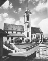 Aufnahme von 1977 (LAD) Test / Stadtkirche St. Jakob in 88630 Pfullendorf (11.07.2010)