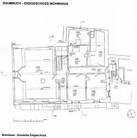 Grundriss, Erdgeschoss, Urheber: Crowell, Barbara und Robert (Architekturbüro ) / Wohn- und Geschäftshaus in 75015 Bretten
