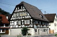 Rathaus, Ansicht von Südosten, Quelle: Huxhold, Freier Architekt / Rathaus in 75015 Bretten-Ruit
