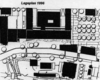 Ehem. Spinnerei, Lageplan 1996, Urheber: SPS Planfabrik / Ehem. Spinnerei in 76275 Ettlingen, kein Eintrag