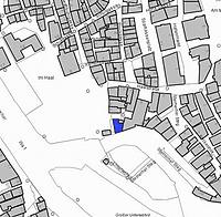 Lageplan 2007 (Vorlage LV-BW) / Ehemaliges Haalamt, Salinenarchiv in 74523 Schwäbisch Hall