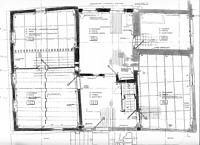 Firstständerhaus, Grundriss Erdgeschoss, Urheber: Crowell, Barbara und Robert (Freie Architekten) / Firstständerhaus in 76698 Ubstadt-Weiher-Zeutern