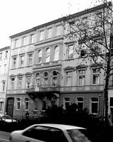 ehem. Hotel, heute Verwaltungsgebäude, Ansicht von Norden, Urheber: Regierungspräsidium Karlsruhe, RPK, Ref. 26 / ehem. Hotel, heute Verwaltungsgebäude in 69117 Heidelberg-Altstadt