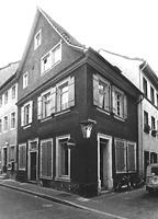 Wohn- und Geschäftshaus, Ansicht von Nordwesten, Urheber: Reck, Hans-Hermann (Büro für Bauhistorische Gutachten) / Wohn- und Geschäftshaus in 69117 Heidelberg-Altstadt