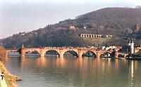 Karl-Theodor-Brücke, Alte Brücke, Ansicht von Westen, Urheber: bic-Ingenieurgesellschaft, Bau-Instandhaltungs-Consult mbH, Heidelberg / Karl-Theodor-Brücke, Alte Brücke in Heidelberg-Neuenheim