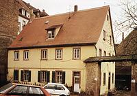 Mönchhof, Wohnhaus, Ansicht von Nordwesten,  Urheber: Regierungspräsidium Karlsruhe, RPK, Ref. 26 / Mönchhof in 69120 Heidelberg-Neuenheim