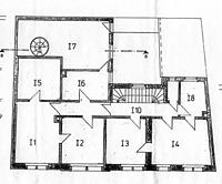 Wohn- und Geschäftshaus, Grundriss 1. OG, Urheber: Herb, Hubert (freier Architekt) / Wohn- und Geschäftshaus in 69117 Heidelberg-Altstadt