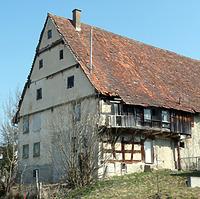 Ansicht von Südwesten / Bauernhaus in 78669 Wellendingen, Wilflingen