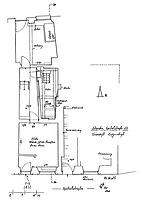 Systemskizze Grundriss EG / Wohnhaus in 79219 Staufen, Staufen im Breisgau (01.11.2002 - Burghard Lohrum)