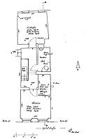 Staufen Systemskizze  Grundriss 1. Obergeschoss / Wohnhaus in 79219 Staufen, Staufen im Breisgau (01.11.2002 - Burghard Lohrum)