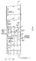 Systemskizze Grundriss 1. Dachgeschoss / Wohnhaus in 79219 Staufen, Staufen im Breisgau (01.11.2002 - Burghard Lohrum)