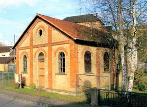 Ehem. Synagoge, Ansicht von Südwesten / Ehem. Synagoge in 74889 Sinsheim-Steinsfurt (22.11.2009 - unbekannt)