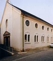 1987 nach der Restaurierung   / Ehemalige Synagoge in 79295 Sulzburg (Sammlung Hahn, Fotos: R. Rasemann, http://www.alemannia-judaica.de/sulzburg_synagoge.htm)