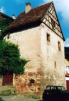 Criminalturm, Ansicht von Südosten, Urheber: Kumlehn, Inge (Restauratorin) / Criminalturm in 75378 Bad Liebenzell