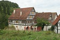 Wohn- und Wirtschaftsgebäude aus Tamm (LB); heute Eingangsgebäude des FLM / Freilichtmuseum Beuren in 72660 Beuren (02.09.2011 - Becker_priv)