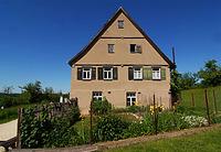 Wohnhaus mit Schreinerei aus Ohmenhausen im FLM Beuren / Freilichtmuseum Beuren in 72660 Beuren (http://www.freilichtmuseum-beuren.de/museum/rundgang/wohnhaus-mit-schreinerei-aus-ohmenhausen/)