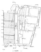 Grundriss Erdgeschoss / Rathaus in 79219 Staufen, Staufen im Breisgau (Burghard Lohrum)