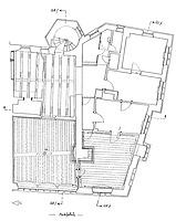 Grundriss 1. Obergeschoss / Rathaus in 79219 Staufen, Staufen im Breisgau (Burghard Lohrum)