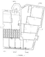 Grundriss 2. Obergeschoss / Rathaus in 79219 Staufen, Staufen im Breisgau (Burghard Lohrum)