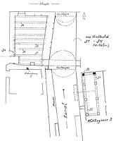 Grundriss Keller mit Kanal / Hotel- Gasthof Kreuz-Post in 79219 Staufen, Staufen im Breisgau (Burghard Lohrum)