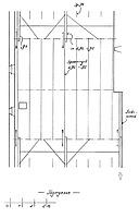 Systemskizze Gerüst- und Gefügesystem 1. Dachgeschoss / Wohnhaus, Jägergasse 6 in 79219 Staufen, Staufen im Breisgau (Stadtarchiv Staufen)