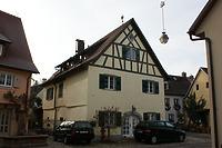 Straßenfassade / Wohnhaus in 79219 Staufen, Staufen im Breisgau (25.01.2009 - Lohrum)