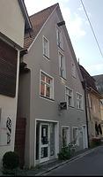 Ansicht Westgiebel / Ehem. Bürgerhaus in 89073 Ulm (26.08.2008 - Christin Aghegian-Rampf)