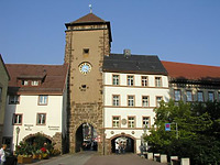 Rietttor / Riettor in 78050 Villingen (06.08.2003 - http://www.badische-seiten.de/bild/villingen/riettor.php)