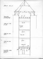 Längsschnitt (Richtung stadteinwärts) / Riettor in 78050 Villingen (29.03.1993 - Lohrum)