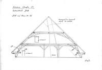 Querschnitt Dach Blick auf Haus Nr.52 / Wohnhaus, Niedere Straße 54 in 78050 Villingen (01.04.2000 - Lohrum)