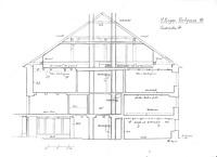 Querschnitt / Wohnhaus, Rietgasse 18 in 78050 Villingen (01.09.2007 - Lohrum)
